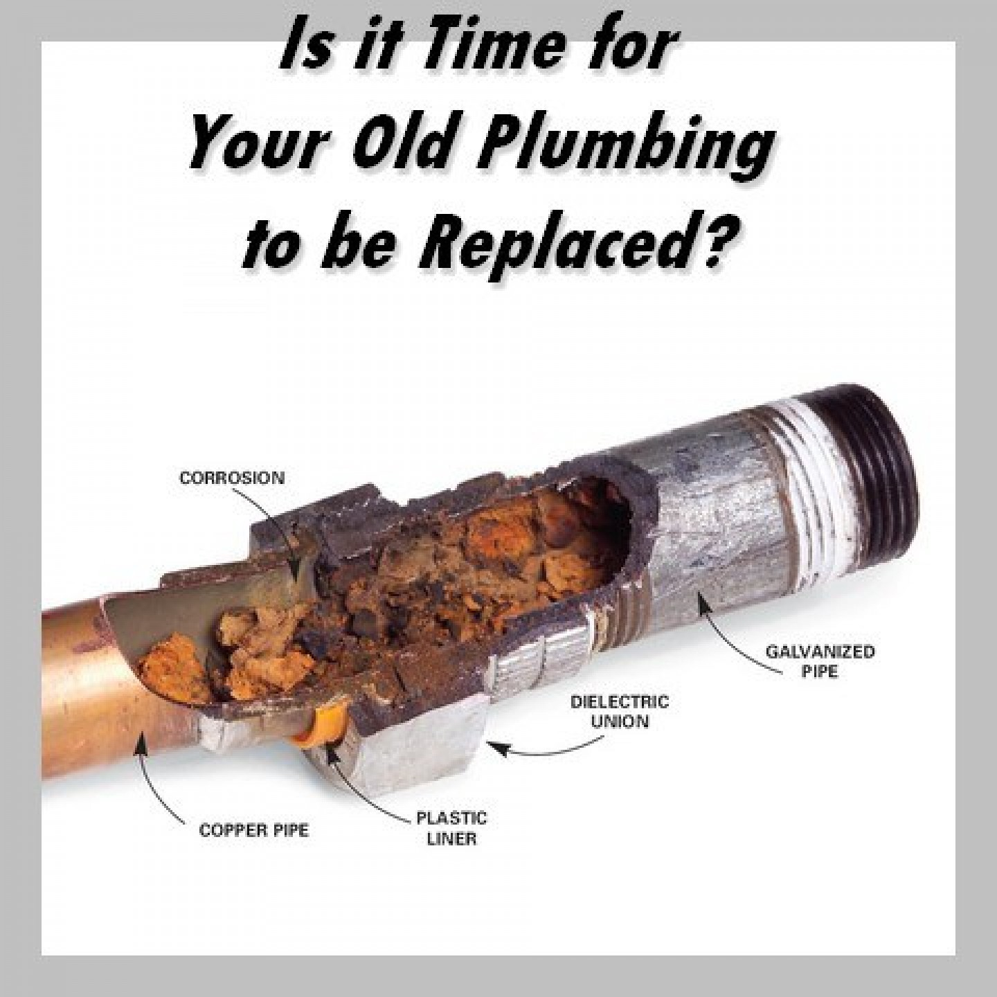 replace old plumbing