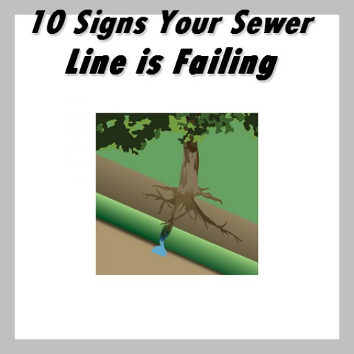 10 signs sewer line