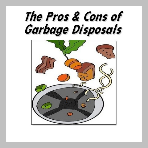 pros and cons of garbage disposals